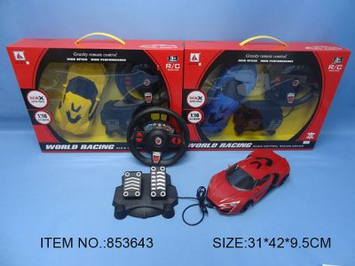 3.4 CHANNELS R-C CAR  USES 4 PCS AA,NOT INCLUDED,CONTROLLER USES 2 PCS AA, NOT INCLUDED